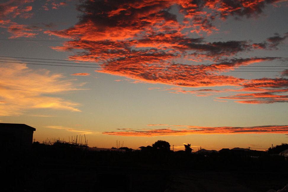 絶景の夕焼け空