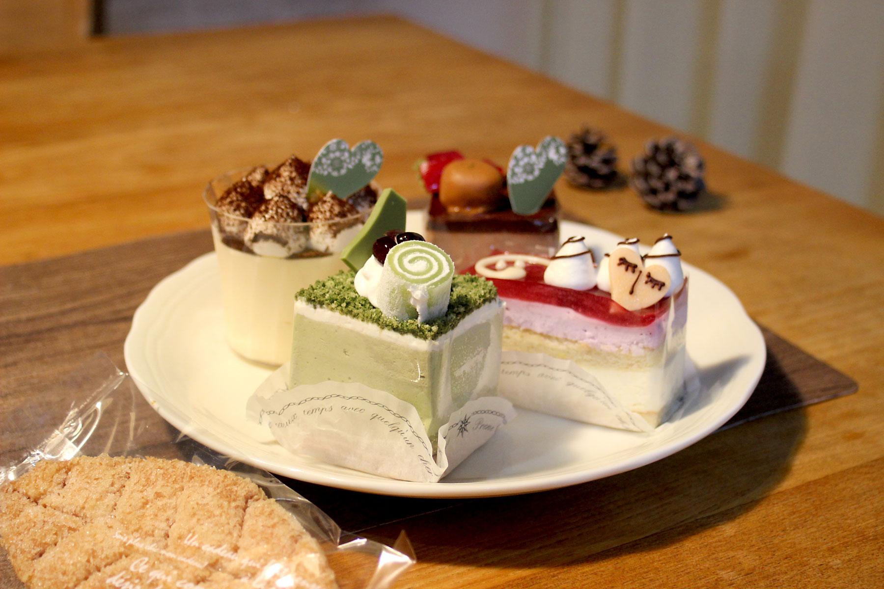 洋菓子店フモールのケーキ