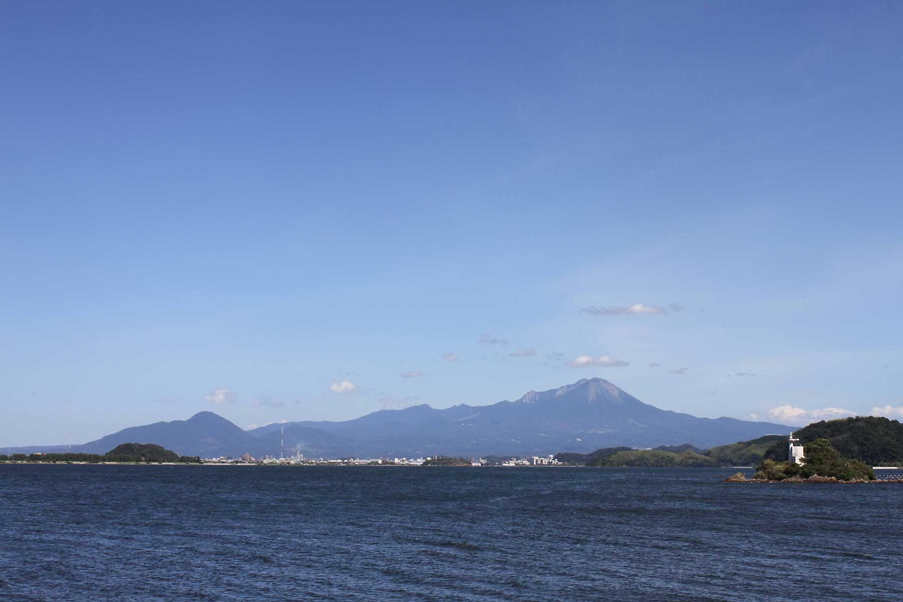 中海親水公園からの大山