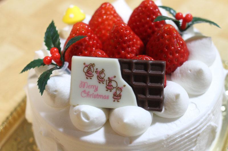 いちごのクリスマスケーキ