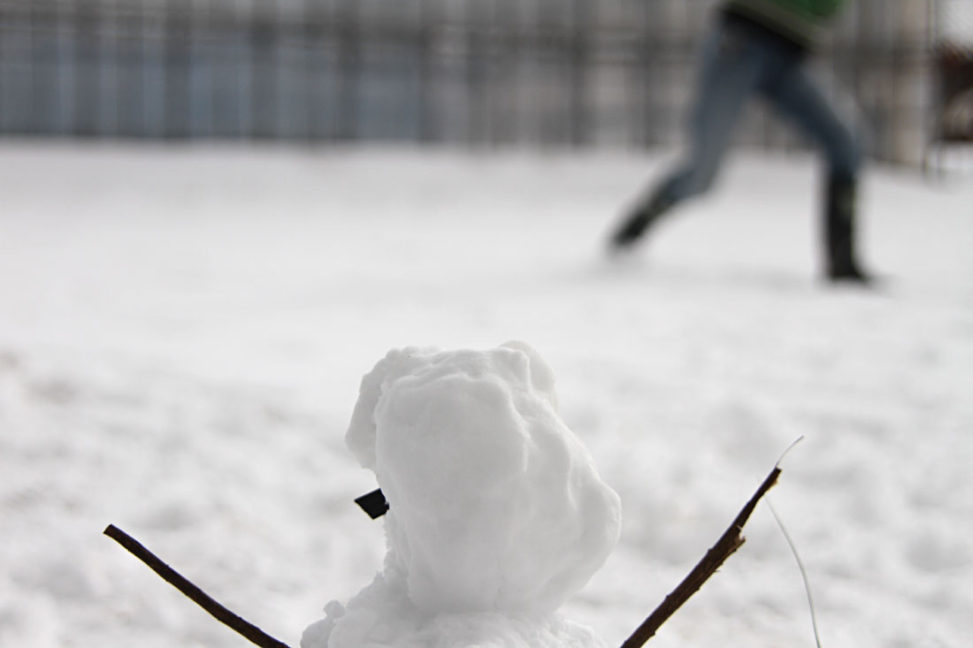 雪合戦の応援