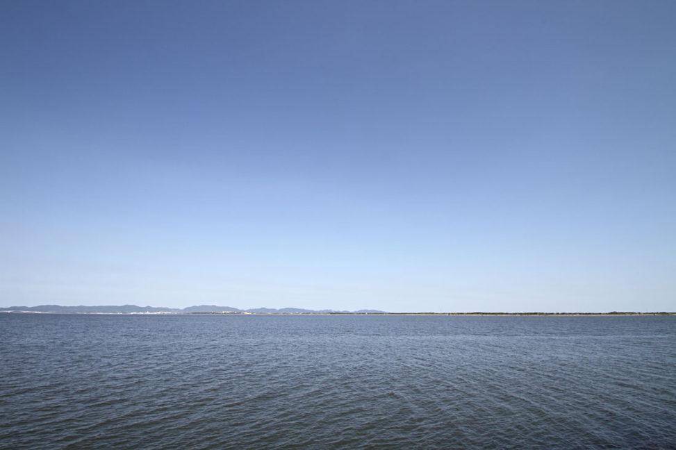 境港、弓ヶ浜半島の眺め
