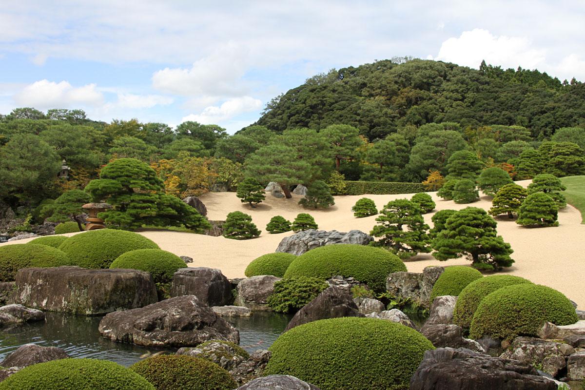 足立美術館日本庭園