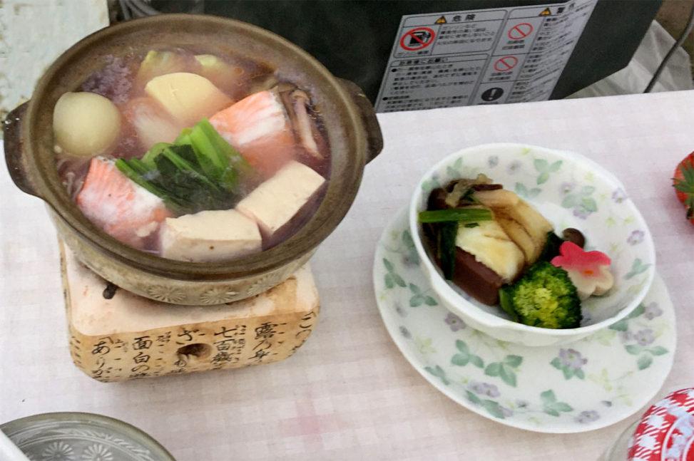 定九郎いちご懐石料理 NHK中継