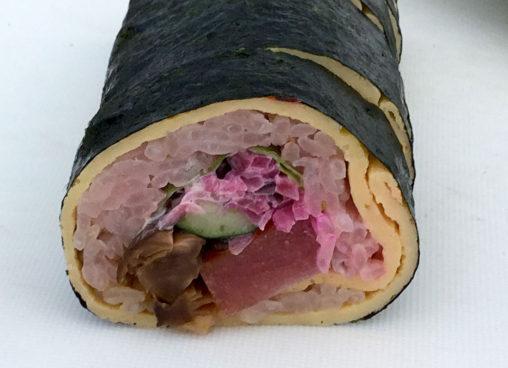 いちご懐石料理 巻き寿司
