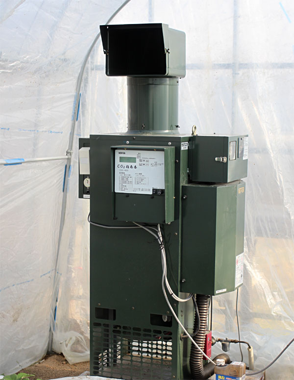 炭酸ガス(二酸化炭素)発生装置