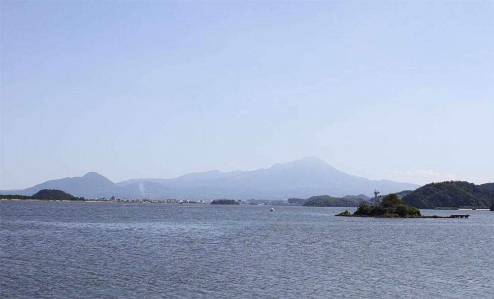 みさき親水公園からの大山